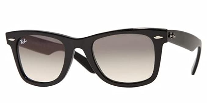 293bbe278 Image Unavailable. Image not available for. Colour: Ray-Ban Wayfarer  Sunglasses Black Crystal Grey Gradient Lens - RB2140 901/32 50