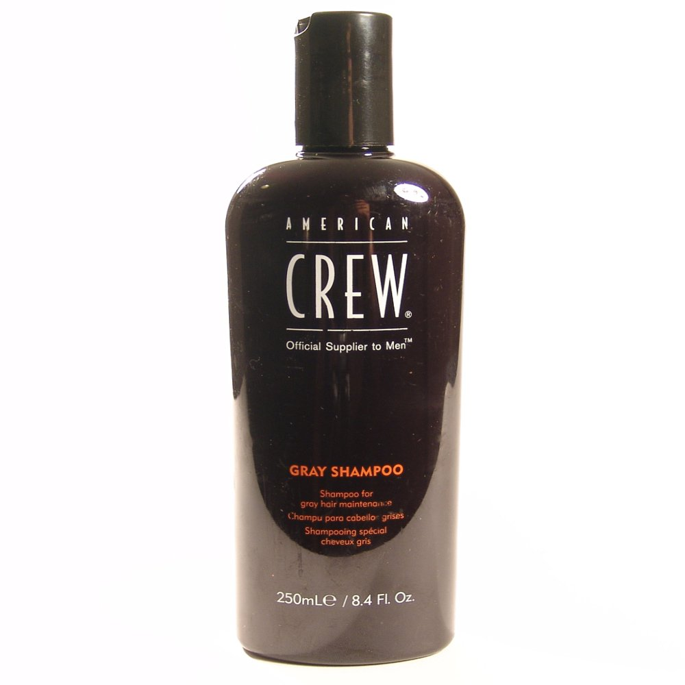 American Crew Classic Gray Shampoo 250ml (Pack of 2) by AMERICAN CREW