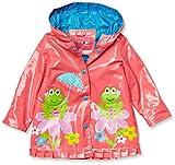 #5: Wippette Girls' Shiny Frog On Flower Rain Jacket