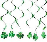 12pcs St. Patrick's Day Dizzy Danglers Shamrock Spiral - Best Reviews Guide