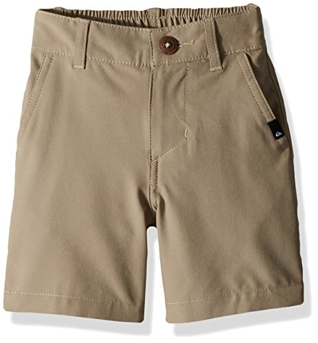 Quiksilver Boys' Little Union Amphibian Kids Swim Trunks, Elmwood, 7X