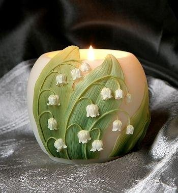 Lily of the Valley Votive Candle Holder - Ibis & Orchid (Valley Candle Holder)