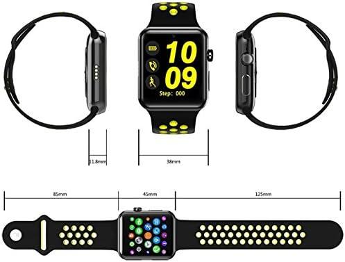 Domino dm09 Plus 1.54 pulgadas reloj teléfono 128 MB + 64MB IPS ...