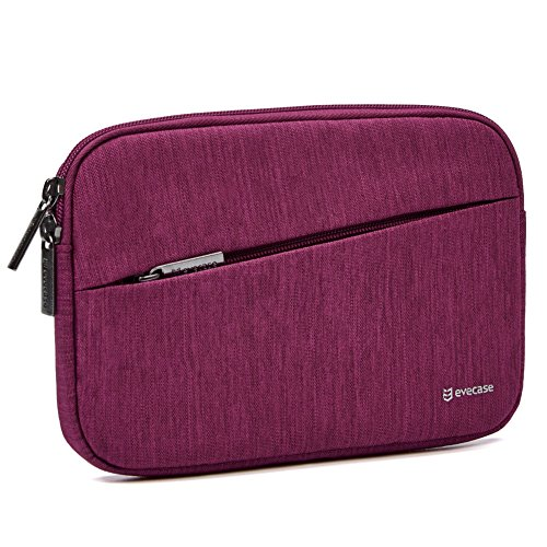 Evecase 6-7 inch Water Repellent Shockproof Tablet Sleeve for Amazon Kindle Paperwhite/Voyage/All-New Kindle (8th Generation, 2016) / Kindle Oasis E-Reader - Wine Red ()