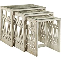 Pulaski Intricate Three Piece Nesting Tables