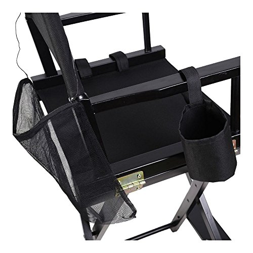 Professional Makeup Artist Directors Chair Wood Light Weight Foldable Black New by Unknown (Image #5)