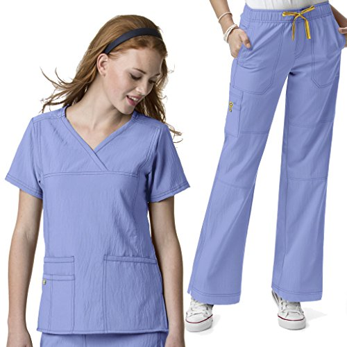 WonderWink Womens Scrubs Stretch Multi Pokcet