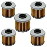 Cyleto Oil Filter for Honda CRF150R EXPERT 150 / CRF150 R 2007-2014 2016 ( Pack of 5 )
