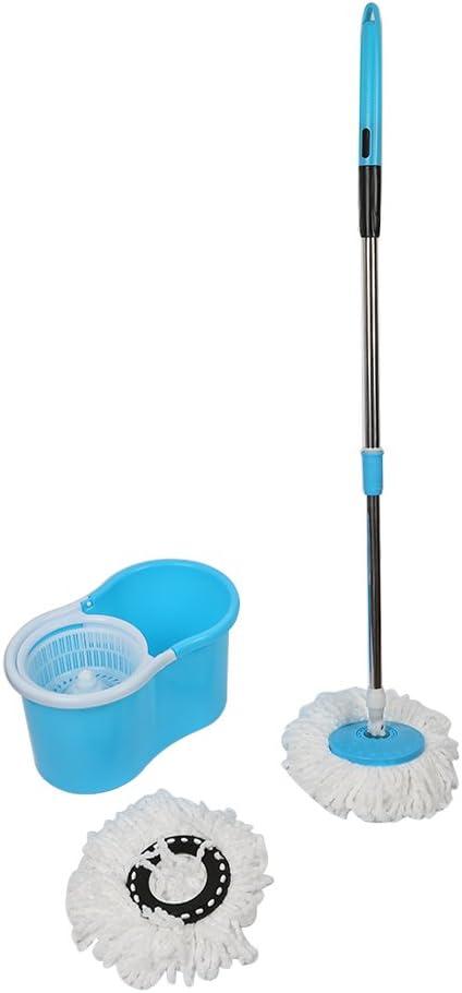 Spinning limpiador para suelos de mopa con cubo 2 repuesto 129 cm ...
