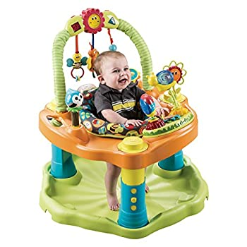 Image of Evenflo ExerSaucer Double Fun Saucer, Bumbly Baby