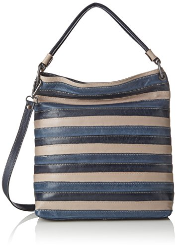 Tasche_282814 Think - Shoppers And Shoulder Bags Woman Blue (navy / Kombi 88)