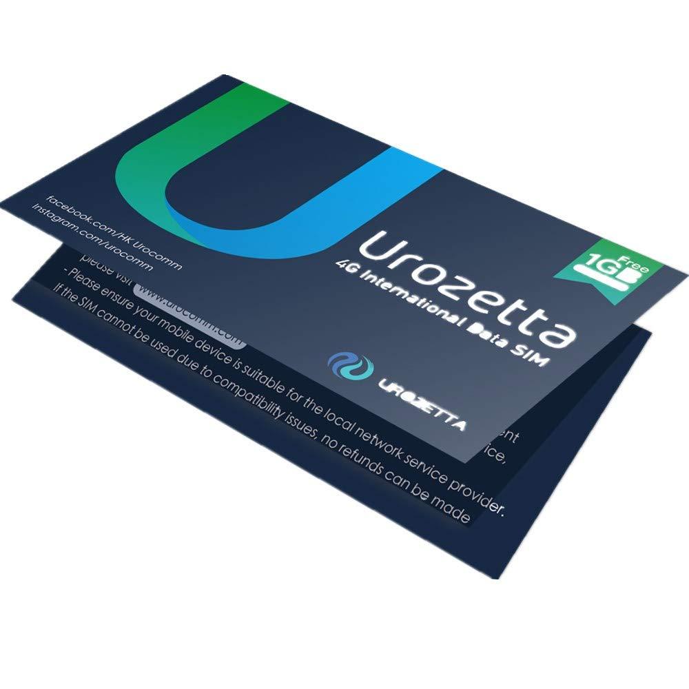 Urozetta SIM 4G LTE Tarjeta SIM de Datos: Amazon.es: Electrónica