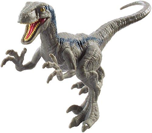 Jurassic World Attack Pack Velociraptor Blue Figure