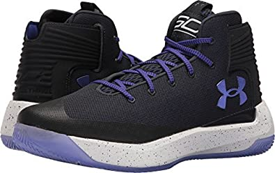 67091e5eacc8 Image Unavailable. Image not available for. Colour  Under Armour Curry 3 Basketball  Shoe Anthracite White Constellation Purple ...