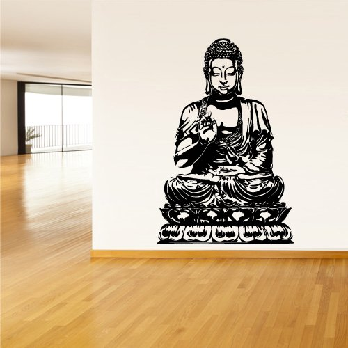 Amazon.com: Wall Decal Vinyl Sticker Decals Buddha India Indian Om Ganesh  God Yoga (Z1377): Home u0026 Kitchen