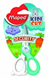 Maped Kidikut Safety Scissors Fiberglass Blades 4 3/4-Inch, Assorted Colors (037800)