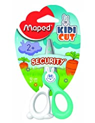 Maped Kidicut Safety Scissors 4.75 Inch, Assorted Colors (037...
