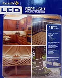 Paradise LED 18 Feet Rope Light Indoor/Outdoor