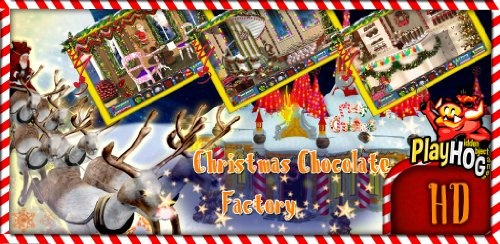 Christmas Chocolate Factory - Hidden Object Game - Digital Chocolate Game