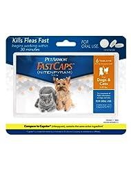 PetArmor FastCaps (nitenpyram) Oral Flea Control Medication, ...