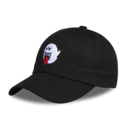 Ghost Embroidered Baseball-Cap Dad-Hat - Adjustable Low Profile Deluxe  Cotton Sport Sun 50a14ff63f49