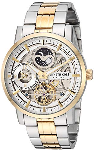 Kenneth Cole New York Men's Automatic Japanese-Quartz Watch with Stainless-Steel Strap, Two Tone, 19.7 (Model: KC50917003)