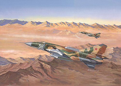 Trumpeter Mig-23MLD Flogger-K Russian Fighter Model Kit (1/48 Scale) Mig Fighter Planes