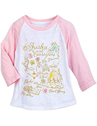 Princess Raglan T-Shirt For Kids Pink