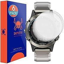 Garmin Quatix 5 Series Screen Protector (6-Pack), Skinomi MatteSkin Full Coverage Screen Protector for Garmin Quatix 5 Series Anti-Glare and Bubble-Free Shield