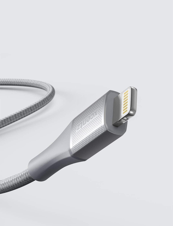 Xcentz iPhone Ladekabel,Lightning Kabel ,3m Nylon iPhone Kabel Schnell Ladekabel f/ür iPhone 11 Pro Max XS XS Max XR X 8 8 Plus 7 7 Plus 6s 6s Plus 6 6 Plus SE 5s 5c 5 iPad MFi-Zertifiziert