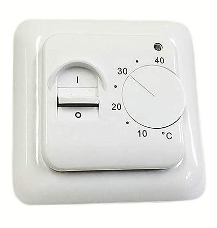 Termostato Eléctrico de Calefacción Bajo Suelo BTC70 Interruptor de ...