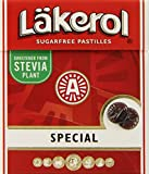 Lakerol Special Menthol Licorice Sugar Free Pastilles, .8 Ounce (Pack of 24)