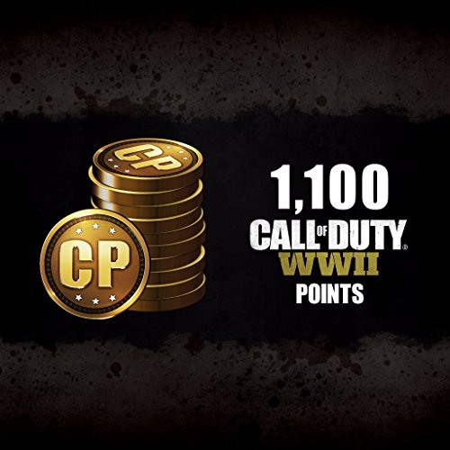 Call of Duty: WWII: Call of Duty: WWII - 1100 COD Points - PS4 [Digital Code]