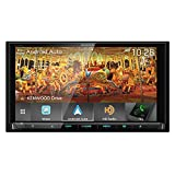 Kenwood DDX9905S 6.75 Inch DVD Receiver with CarPlay, Android Auto and Bluetooth (Renewed)