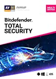 Bitdefender Total Security - 10 Devices | 2 year Subscription | PC/MAC |Activation Code by email