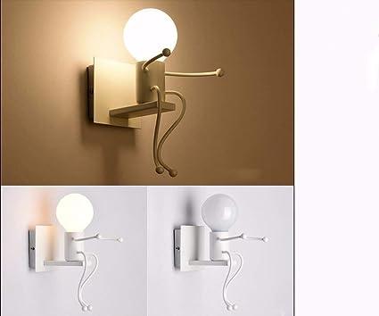 Dinns Dormitorio con lámpara de Pared en Estilo Moderno para ...