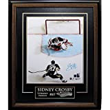 Sidney Crosby Pittsburgh Penguins Autographed Framed 16x20 Photograph - Frameworth Auth - Certified Authentic Autograph