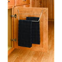 Rev-A-Shelf Door Storage Towel Holder - Cable de cromo