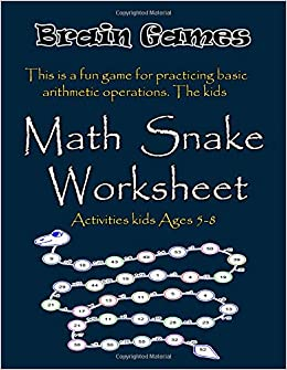 Amazon com: Brain Games: Math Snake Worksheet This is a fun