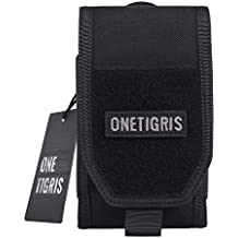 "OneTigris Large Smartphone Pouch for 5.5"" Phone with Otterbox or Survivor Case"