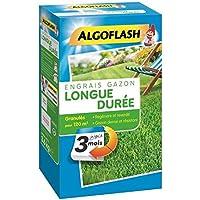 ALGOFLASH Engrais Gazon Longue durée 3 Mois