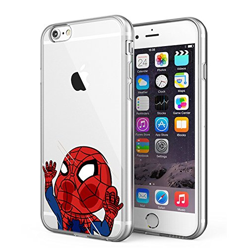iPhone 6 / iPhone 6S Case, Litech [Flexible Ultra Slim] Scratch-Resistant, Superhero Series (Spide Man 3)
