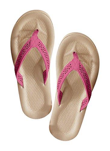 Carol Wright Cadeaux Thong Sandale Fuschia