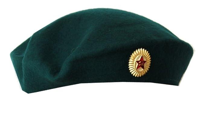 572cbfeae56f8 Soviet Army ORIGINAL military Female Officer Beret. at Amazon ...
