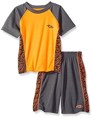 CB Sports Boys' 2 Piece Performance T-Shirt and Short Set