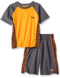 CB Sports Boys' 2 Piece Performance T-Shirt and Short Set