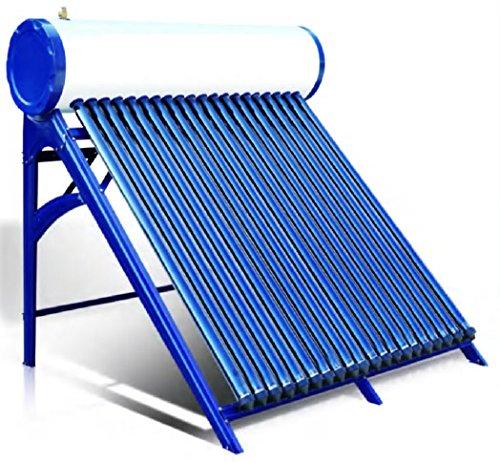Solar Tank Heater (300 Liter Standard Passive Duda Solar Water Heater Attached Pressurized Tank Evacuated Tubes)