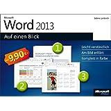 Microsoft Word 2013 auf einen Blick
