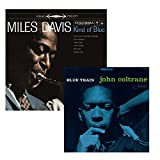 Kind Of Blue - Blue Train - Miles Davis and John Coltrane - 2 Vinyl HQ LP Bundling - 180 gram