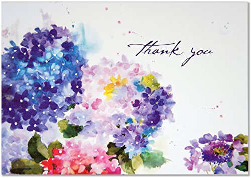 Hydrangeas Thank You Notes (Stationery, Note Cards, Boxed Cards) ()